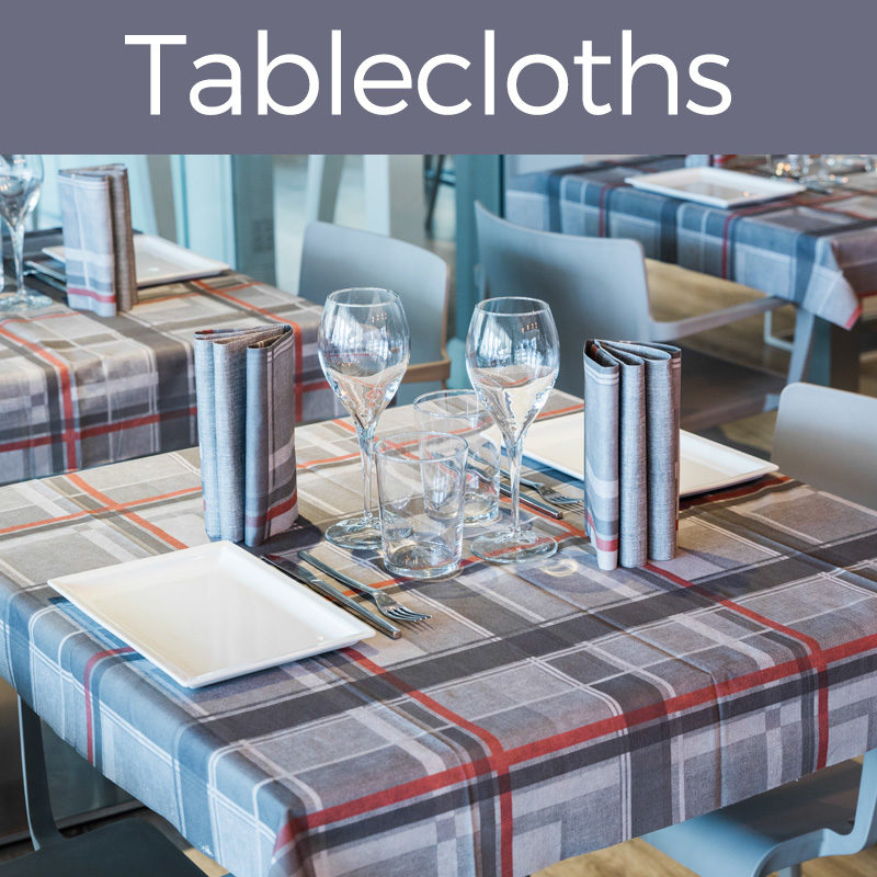 Tablecloths - 100 x 100cm - Single Pack