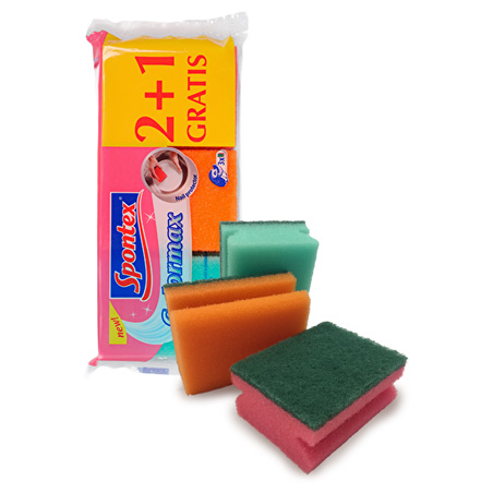 Colourmax Scourers 2+1