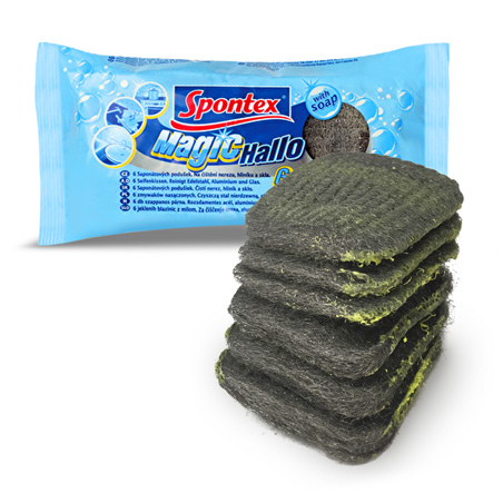 Magic Soap Infused Scourers