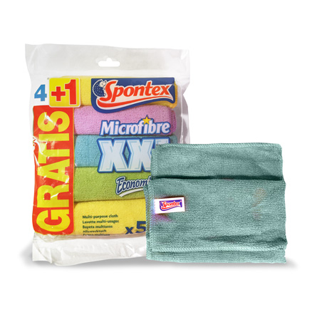 Microfibre Cloth XXL 4+1