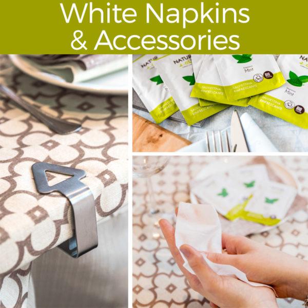 White Napkins & Accessories