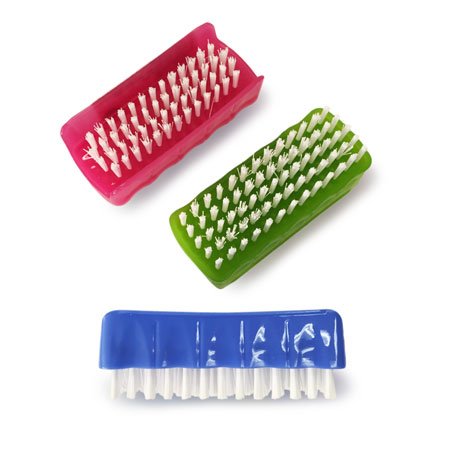 Nail Brush Two Sided